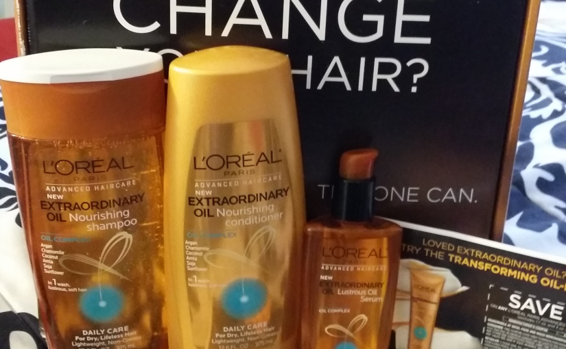 L'oreal Paris #Extraordinaryhair care Review